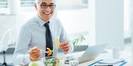 бизнесмен и здоровый образ жизни